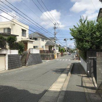 少し散歩してみました。穏やかな街並みが続いていい雰囲気♩