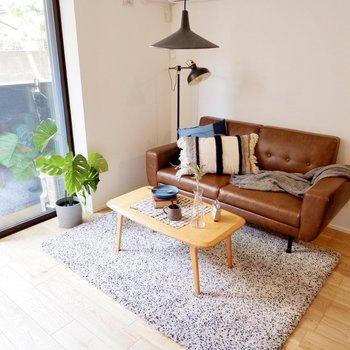 アンティーク調の家具もぴったり。
