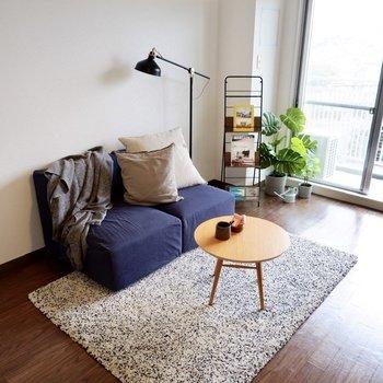 自分好みのくつろぎスペースを作って。※写真は2階の同間取り別部屋のものです
