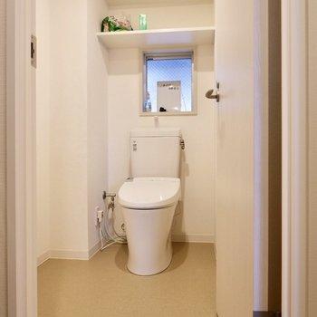 各コモンスペースにはお手洗いが備えられています。