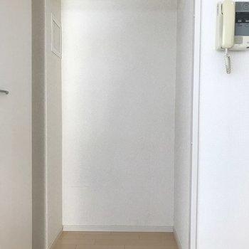 クローゼットはここだけ。断捨離必須ですね。(※写真は3階の同間取り別部屋のものです)