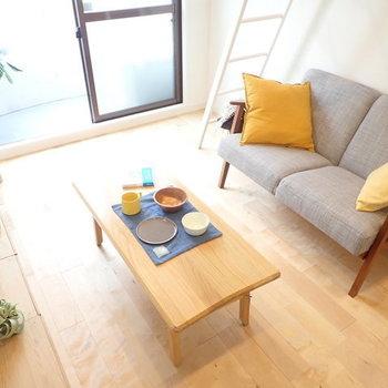 【イメージ】コンパクトながらも、置く家具にはこだわりたい・・
