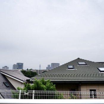 眺望は周辺住宅街。