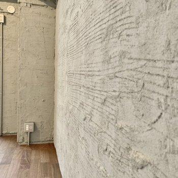この壁の質感...!!惚れ惚れしちゃいます。