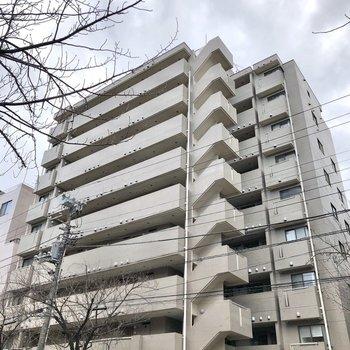 防音性の高い、鉄骨鉄筋造りのマンションです。