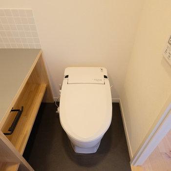 ちょこんとトイレが同室です※写真は前回募集時のもの
