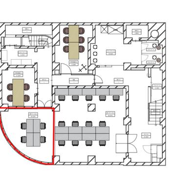 赤枠の場所が002号室です