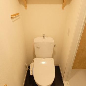 【イメージ】トイレは脱衣所にあります※手洗いは付きません