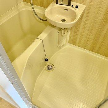 洗い場、浴槽ともにゆったりめ。