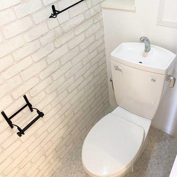 トイレも素敵な装いなんです……!