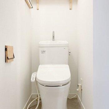 【イメージ】嬉しい個室のトイレです!