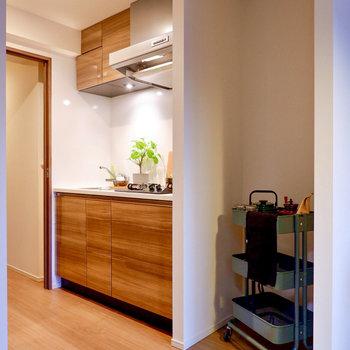 【DK】右横に冷蔵庫が置けますね。