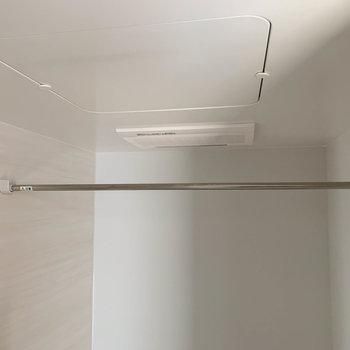 浴室乾燥、暖房なども付いています。