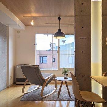 【DK】明るく生活することができます。※家具はサンプルです