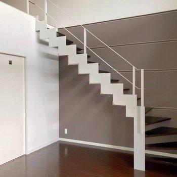 さて、階段をのぼってみましょう。