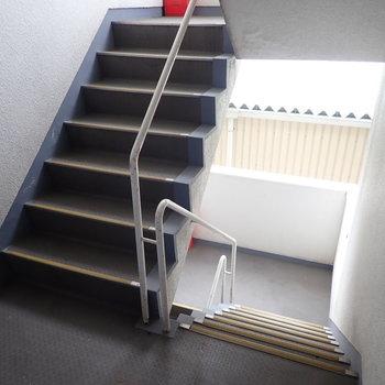 【共用部】エレベーターはないので階段です。