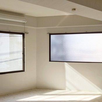 窓がたくさんあるのもいいですね。