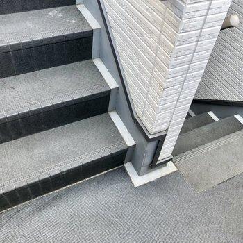 2階までさくっと階段です!