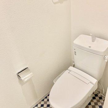 トイレもかわいいです。