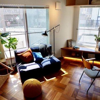 ※同間取り別部屋のお写真です。 読書やお昼寝、コーヒータイムなど...ゆったりと過ごせそう。