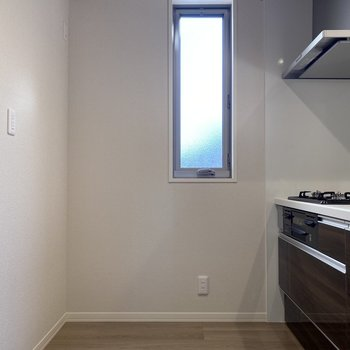 キッチンスペースが広いから料理がしやすそう。