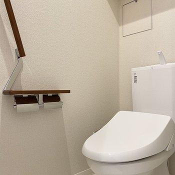 なんと2階にもトイレがあるんです。混み合っても大丈夫。
