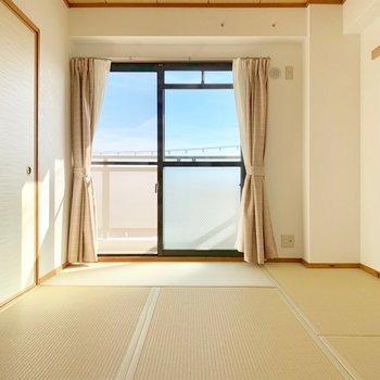 おとなりの和室。畳も新品です。