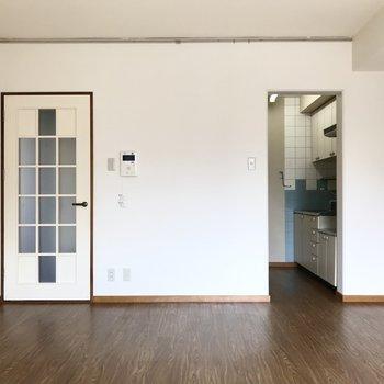 キッチンは半個室なのがうれしい