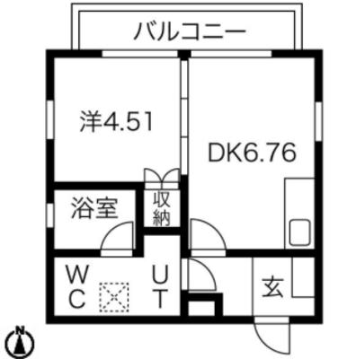 ネストクロカワ(nest kurokawa)の間取り