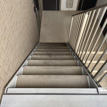 2階だから大変という印象はありませんでしたよ。