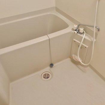 お湯はり機能付いています。 (※写真は7階の同間取り別部屋のものです)