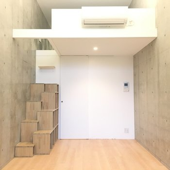 天井高は3.6m※写真は5階の反転間取り別部屋のものです