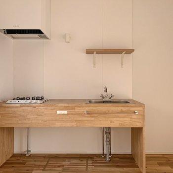 【1階】このキッチンがとにかく可愛すぎるんです!
