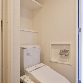 トイレも同室にありました。