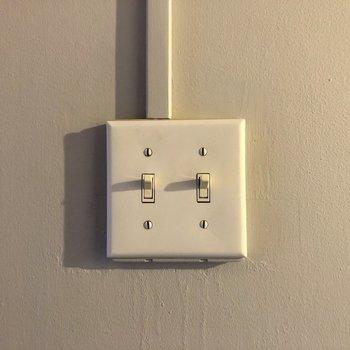 このスイッチ!実は1番のお気に入り。笑