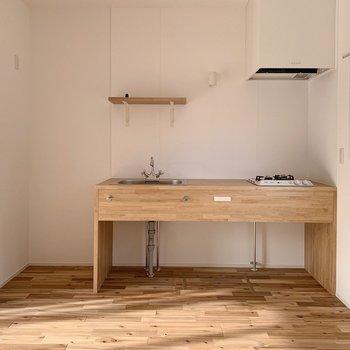 【1階】このキッチン、可愛すぎませんか?