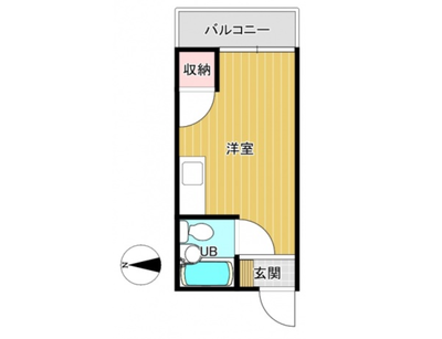 FORWEST住吉の間取り