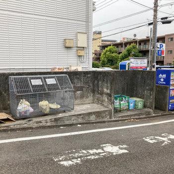 敷地内にゴミステーションがあります。