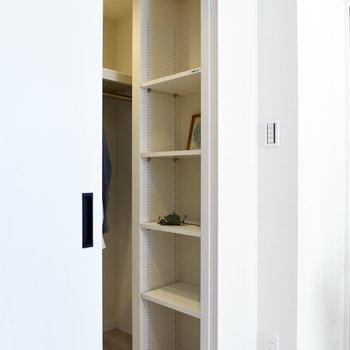 ボックスなども活用すると日用品を整理整頓しやすくなりますよ。