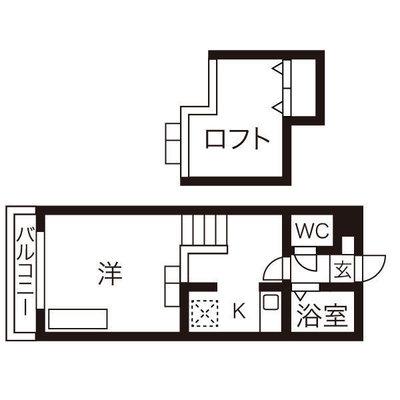 第7AMS円山の間取り図
