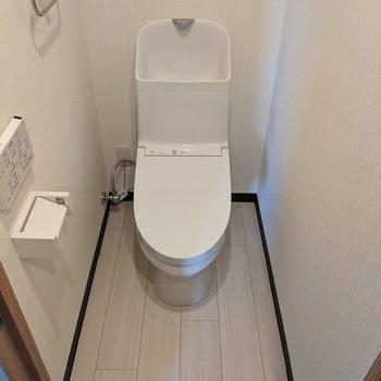 ゆとりのある広いトイレです。
