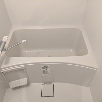 ゆったりお風呂にはいることができます。