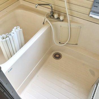 お風呂は普通サイズです!