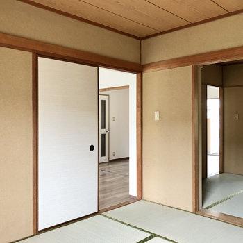 お部屋が繋がってるので、どこからでもアクセス可能◯