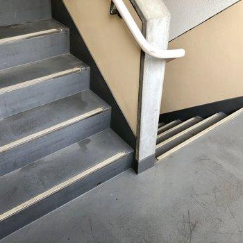 2階まで階段です!
