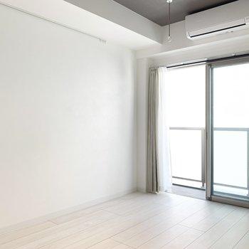 シンプルな内装で家具も選びやすそうです。