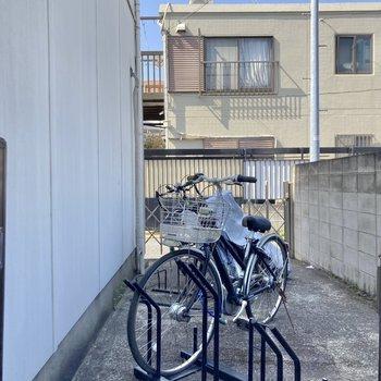 自転車置き場付きです◎