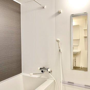 浴室乾燥付きのバスルーム。 ※写真は前回募集時のものです