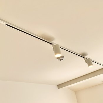 【LDK】ライトはライティングレール式。