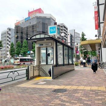 恵比寿駅は2番口が近かったです。